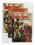 Silver Age (1956-1969):Adventure, Robin Hood and His Merry Men Group (Charlton, 1956-58) Condition: Average FR/GD. Nine-issue group lot includes #28, 29, 30, ... (9 Comic Books)