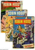 Silver Age (1956-1969):Adventure, Robin Hood Tales Group (DC, 1957-58) Condition: Average FR. Three-issue group includes #7 (cover detached and nearly split),... (3 Comic Books)
