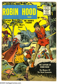 Robin Hood Tales #6 (Quality, 1956) Condition: FN-. Cover and art by Matt Baker. Overstreet 2005 FN 6.0 value = $102