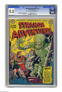 Strange Adventures #10 (DC, 1951) CGC VF 8.0 Cream to off-white pages. This was only the second issue to feature Captain...