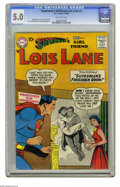 Silver Age (1956-1969):Superhero, Superman's Girl Friend Lois Lane #2 (DC, 1958) CGC VG/FN 5.0 Off-white pages. Curt Swan cover. Kurt Schaffenberger and Wayne...