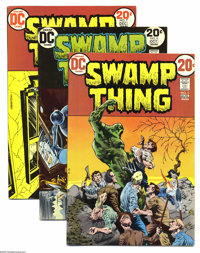 Swamp Thing Group (DC, 1973-75) Condition: Average FN/VF. NIne-issue group lot includes #5, 6, 7 (Batman appearance), 8...