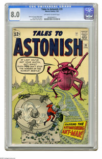 Tales to Astonish #39 (Marvel, 1963) CGC VF 8.0 Off-white to white pages. Jack Kirby cover. Art by Kirby (Ant-Man story)...