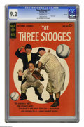 Silver Age (1956-1969):Humor, Three Stooges #13 File Copy (Gold Key, 1963) CGC NM- 9.2 Off-white pages. Photo cover. This is the highest grade awarded by ...