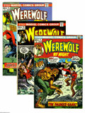 Bronze Age (1970-1979):Horror, Werewolf by Night Group (Marvel, 1973-74) Condition: Average VG.Fourteen-issue group lot includes #4, 5, 6, 8 (two copies),... (14Comic Books)