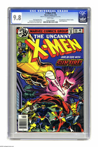 X-Men #118 (Marvel, 1979) CGC NM/MT 9.8 White pages. Wolverine's love interest Mariko Yashida made her first appearance...