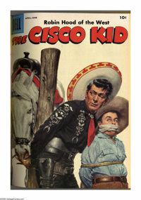 The Cisco Kid #26-41 Bound Volumes (Dell, 1955-58). These are Western Publishing file copies that have been trimmed and...