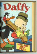 Silver Age (1956-1969):Cartoon Character, Daffy #4-15 Bound Volume (Dell, 1956-58). These are Western Publishing file copies that have been trimmed and bound into a h...