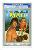 "Magazines:Mad, Mad #194 Gaines File Pedigree (EC, 1977) CGC VF+ 8.5 Off-white pages. ""Rocky"" and ""Laverne and Shirley"" parodies. Jack Ricka... (1 )"