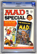 Magazines:Mad, Mad Special #24 Gaines File pedigree (EC, 1977) CGC NM+ 9.6Off-white pages. Includes The Nostalgic Mad #6. Overstreet 2...