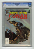Magazines:Superhero, Savage Sword of Conan #85 (Marvel, 1983) CGC NM+ 9.6 White pages.Bondage cover by Joe Chiodo. Jeff Eisley and Pablo Marcos ...