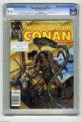 Magazines:Miscellaneous, Savage Sword of Conan #190 (Marvel, 1991) CGC NM+ 9.6 White pages.King Kull back-up story. Earl Norem cover. John Buscema, ...