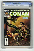 Magazines:Miscellaneous, Savage Sword of Conan #191 (Marvel, 1991) CGC NM+ 9.6 White pages.King Kull back-up story. Joe Jusko cover. John Buscema, T...