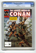 Magazines:Miscellaneous, Savage Sword of Conan #199 (Marvel, 1992) CGC NM/MT 9.8 Whitepages. Alfredo Alcala pin-up. King Kull back-up story. Ovi Hon...