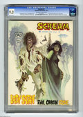 Magazines:Horror, Scream #2 (Skywald, 1973) CGC NM- 9.2 Off-white to white pages. Origin and first appearance of Lady Satan. Edgar Allan Poe a...