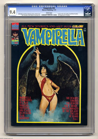 Vampirella #30 (Warren, 1974) CGC NM 9.4 White pages. First appearance of Pantha. Enrich Torres cover. Neal Adams, Jose...
