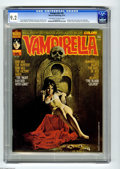 Magazines:Horror, Vampirella #35 (Warren, 1974) CGC NM- 9.2 Off-white to white pages. Eight-page color story. Enrich cover. Esteban Maroto, Jo...