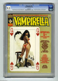 Magazines:Horror, Vampirella #36 (Warren, 1974) CGC NM- 9.2 White pages. Fifth Anniversary issue. Classic cover by Manual Sanjulian. Jose Gonz...