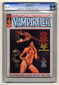 Magazines:Horror, Vampirella #37 (Warren, 1974) CGC NM 9.4 Off-white to white pages. Eight-page color story with art by Jose Gonzalez. 1974 Ye...