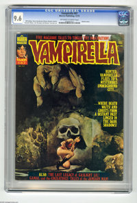 Vampirella #47 (Warren, 1975) CGC NM+ 9.6 Off-white to white pages. Enrich cover. Gonzalo Mayo, Luis Bermejo, and Ramon...
