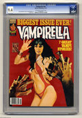 Magazines:Horror, Vampirella #64 (Warren, 1977) CGC NM 9.4 Off-white to white pages. Enrich Torres cover. Carmine Infantino and Gonzalo Mayo a...