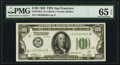 Small Size:Federal Reserve Notes, Fr. 2150-L $100 1928 Federal Reserve Note. PMG Gem Uncirculated 65 EPQ.. ...