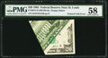 Error Notes:Foldovers, Fr. 2075-H $20 1985 Federal Reserve Note. PMG Choice About Unc 58.. ...