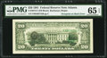 Error Notes:Third Printing on Reverse, Fr. 2073-F $20 1981 Federal Reserve Note. PMG Gem Uncirculated 65 EPQ.. ...