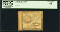 Colonial Notes:Continental Congress Issues, Continental Currency January 14, 1779 $45 PCGS Extremely F...