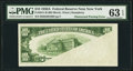 Error Notes:Obstruction Errors, Fr. 2011-B $10 1950A Federal Reserve Note. PMG Choice Uncirculated63 EPQ.. ...