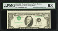 Error Notes:Inverted Third Printings, Fr. 2027-A $10 1985 Federal Reserve Note. PMG Choice Uncirculated63.. ...
