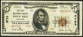 National Bank Notes:Maryland, Snow Hill, MD - $5 1929 Ty. 2 The First NB Ch. # 3783. ...