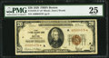 Small Size:Federal Reserve Bank Notes, Fr. 1870-A* $20 1929 Federal Reserve Bank Note. PMG Very Fine 25.. ...