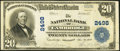 National Bank Notes:Maryland, Cambridge, MD - $20 1902 Plain Back Fr. 659 The NB of Cambridge Ch.# 2498. ...