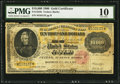 Large Size:Gold Certificates, Fr. 1225h $10,000 1900 Gold Certificate PMG Very Good 10.. ...