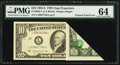Error Notes:Foldovers, Fr. 2026-L $10 1981A Federal Reserve Note. PMG Choice Uncirculated64.. ...