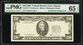 Error Notes:Missing Third Printing, Fr. 2077-F $20 1990 Federal Reserve Note. PMG Gem Uncirculated 65 EPQ.. ...