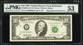 Error Notes:Mismatched Prefix Letters, Fr. 2032-E $10 1995 Federal Reserve Note. PMG About Uncirculated53.. ...