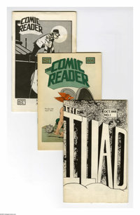 Fanzines Group (Various, 1968-77) Condition: Average VG. This group consists of 12 digest-sized fanzines. Some of the ti...