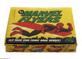 Memorabilia:Comic-Related, Box of Marvel Flyers (Topps, 1966). This is a 12-count store display box, full of Marvel Flyers glider toys. Included are on...