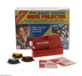 Memorabilia:Miscellaneous, Marvel Easy-Show Movie Projector (Kenner, 1967). Popular in the '60s and '70s, these D-cell powered mini-8mm projectors came...