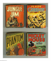 Big Little Book Group (Various, 1933-40). This group lot of eight Big Little Books includes 1423 Flash Gordon and the Pe...