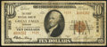 National Bank Notes:Montana, Great Falls, MT - $10 1929 Ty. 2 The First NB Ch. # 3525. ...