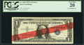 Error Notes:Miscellaneous Errors, Fr. 1620 $1 1957A Silver Certificate. PCGS Very Fine 20.. ...