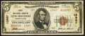 National Bank Notes:Pennsylvania, New Freedom, PA - $5 1929 Ty. 2 First NB Ch. # 13887. ...