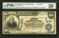 National Bank Notes:Pennsylvania, Honeybrook, PA - $10 1902 Plain Back Fr. 626 The First NB Ch. #(E)1676. ...