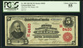 National Bank Notes:Ohio, Belpre, OH - $5 1902 Red Seal Fr. 589 The First NB Ch. # (M)8420. ...