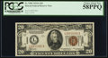 Small Size:World War II Emergency Notes, Fr. 2305 $20 1934A Hawaii Federal Reserve Note. PCGS Choice AboutNew 58PPQ.. ...