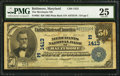 National Bank Notes:Maryland, Baltimore, MD - $50 1902 Plain Back Fr. 682 The Merchants NB Ch. #(E)1413. ...