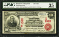 National Bank Notes:Maryland, Baltimore, MD - $10 1902 Red Seal Fr. 613 The Western NB Ch. #(E)1325. ...